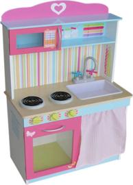 Houten keuken Lila