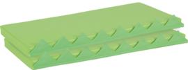 Matrassenset voor manipulatieve wand - groen 2 stuks