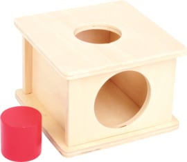 Vormen box met grote rol