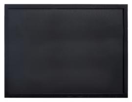 Krijtbord Securit wand 30x40cm zwart hout
