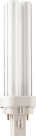 Spaarlamp Philips Master PL-C 2P 13W 900 Lumen 830 warm wit