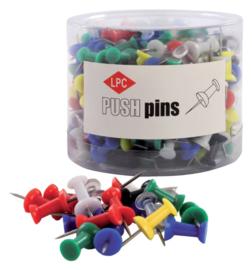 200x Push pins LPC  assorti
