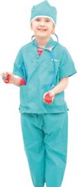 Kostuum met accessoires - chirurg