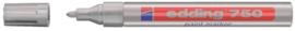 Viltstift edding 750 lakmarker rond zilver 2-4mm