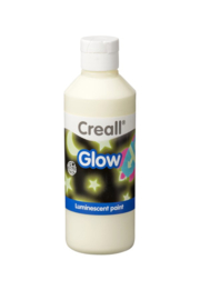 Plakkaatverf Creall glow in the dark 250 ml. groen