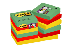 Memoblok 3M Post-it 622-SSMK Super Sticky 47.6x47.6mm Marrakesh