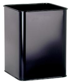 Papierbak Durable 3315 18,5 liter vierkant zwart