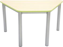 Premium trapeziumvormig tafelblad - groen