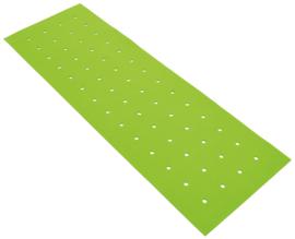Geluiddempend paneel met gaten - groen