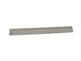 Liniaal kunststof 20 cm.