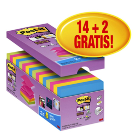 Memoblok 3M Post-it Z-Notes Super Sticky  76x76 mm.
