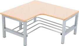 Flexi hoekbank voor garderobe 4, hoogte: 26 cm, esdoorn