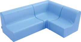 Kleine stoel lichtblauw