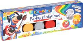 Waterverf Bambino  20ml 12 kleuren - Assorti