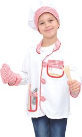 Kostuum met accessoires - Chef