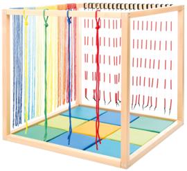 Kubus - constructie voor sensorische accessoires