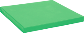 Lichte mat 100x100cm - groen