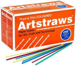 Artstraws 4mm x 40cm 1800 stuks - Assorti