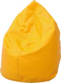 Mini zitzak poef - oranje