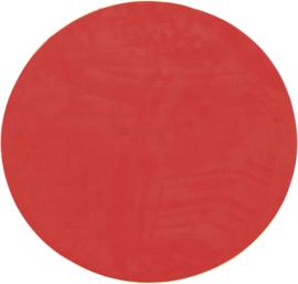 Magnetisch zelfklevend behang rond - rood