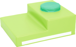 Foam, sensorische trap 60x50x20cm  - Groen