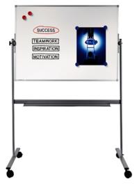 ECONOMY kantelbaar whiteboard 90 x 120 cm