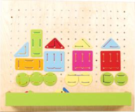 Verwisselbare panelen voor het 099130 sensorische huis - grote veters
