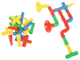 Bouwblokken - trompet