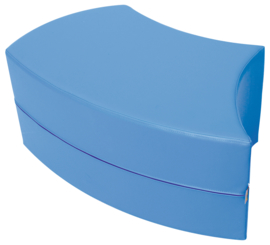 Juna slang zitje 77x35x45cm - Blauw