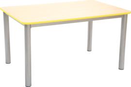 Premium rechthoekige tafelblad - geel