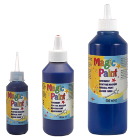 500ml Magic Paint Toververf (biocolor) donkerblauw