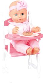 Baby in kinderstoel