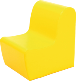 Medium zitbank 40cm zithoogte 26 cm - Geel