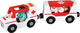 Ambulance met geluid
