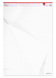 2 stuks Flipoverpapier Quantore 65x98cm 50vel ongevouwen
