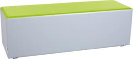 Wachtruimte zitje  40x40x120cm - Grijs/lime