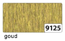 Crepepapier  250x50cm nr9125 goud