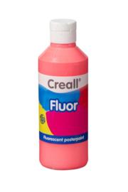 Plakkaatverf Creall fluor 250 ml - Rood