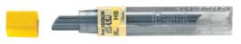 Potloodstift Pentel 0.9mm zwart per koker HB