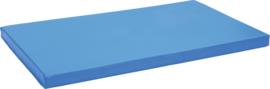 Anti-slip mat afm. 150 x 90 x 8 cm blauw