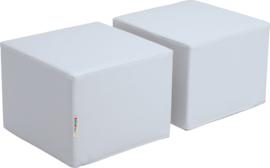 Zachte poefs voor Premium-kast - grijs
