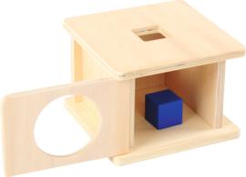 Vormen box met vierkant
