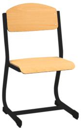 NIC stoel  zwart, maat 2-6