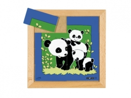 Puzzel Panda moeder/kind 8 dlg.