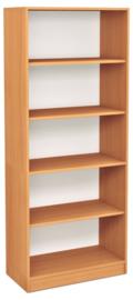 Expo hoge boekenkast - beuken
