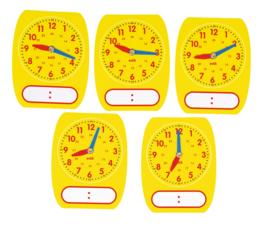Kleine klokken - set van 5