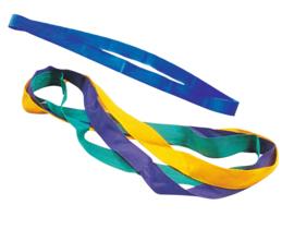 Kleurrijke schouderbanden  geel