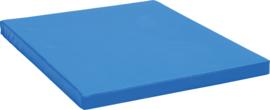Anti slip matras Afm. 159 x 159 x 8 cm blauw
