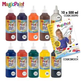Biocolor magic paint 10 x 500 cc -  Assorti