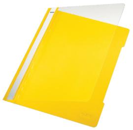 10x Snelhechter Leitz 4191 A4 PVC geel